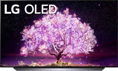 LG OLED48C17LB OLED-Fernseher (121 cm/48 Zoll, 4K Ultra HD, Smart-TV, (bis zu 120Hz), α9 Gen4 4K AI-Prozessor, Twin Triple Tuner, Sprachassistenten, HDMI 2.1)