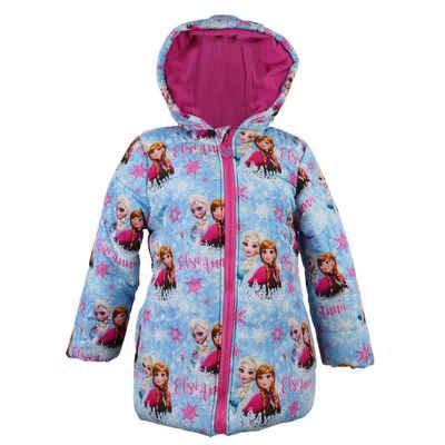 Disney Frozen Winterjacke »Die Eiskönigin Kinder Jacke« Gr. 98 bis 128