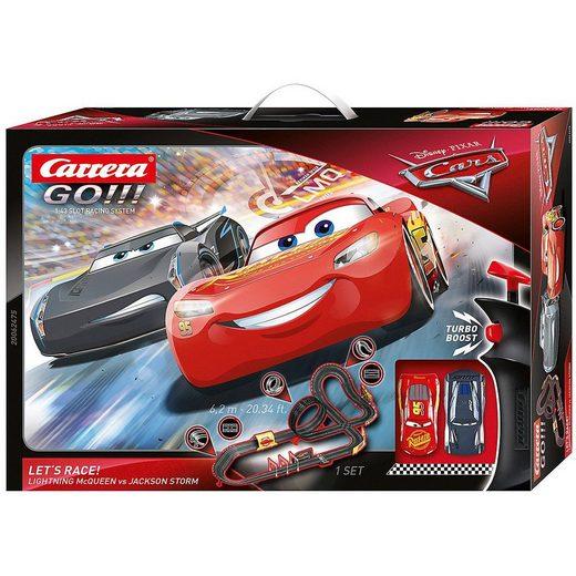 Autorennbahn »Carrera GO!!! Disney Pixar Cars - Let's Race!«