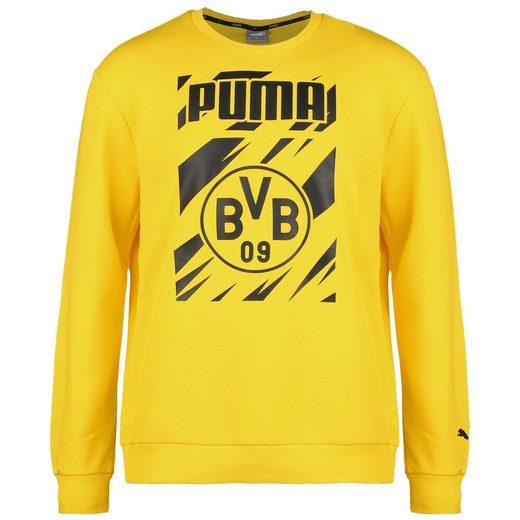 PUMA Trainingspullover »Borussia Dortmund Ftblcore Graphic Crew«