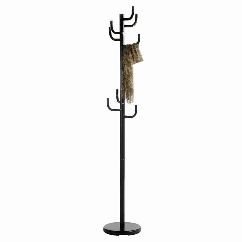IDIMEX Kleiderständer »MILA«, Kleiderständer Standgarderobe Kleiderhaken in schwarz grau oder weiss Flur Diele
