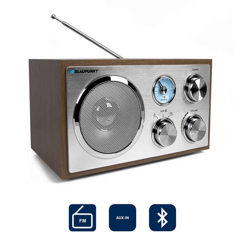 Blaupunkt »RXN 180« Küchen-Radio (UKW/FM PLL, 3 W, Küchen Radio mit Bluetooth)