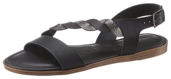 Tamaris »ISLA« Sandale mit asymetrischen Riemchen