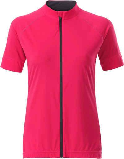 James & Nicholson Trainingsshirt »Full Zip Radtrikot FaS50515«