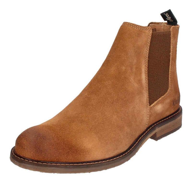Kickers »ALPHATRI« Chelseaboots Camel Clair