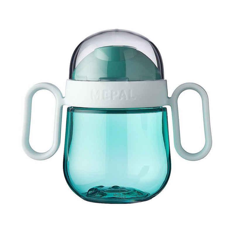 Mepal Trinklernbecher »Antitropf-Trinklernbecher mio, 200 ml deep blue«
