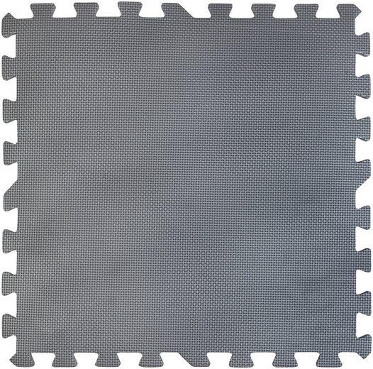 Gre Bodenschutzmatte, 4 Pakete á 9 Stück, 50x50 cm