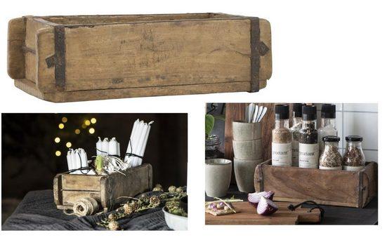 Ib Laursen Holzkiste »Laursen 2344-00 Ziegelform Unika Backsteinform Holz Box Kiste Halter 1-Fach«