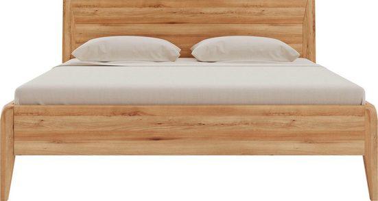 Home affaire Massivholzbett »Laura«, metallfrei durch patentierte Holzdübel Anordnung, Holzbett in hochwertiger Verarbeitung