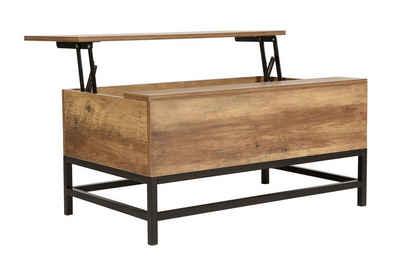 Happy Home Couchtisch, Klappfunktion Wohnzimmer Tisch Holz Sofa Truhe Truhentisch Holztisch
