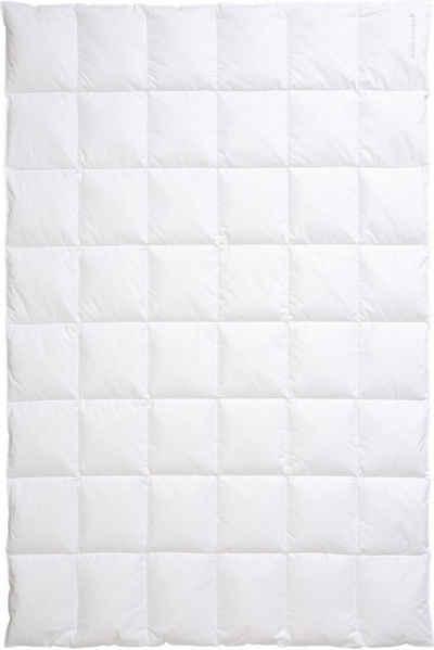Daunenbettdecke, »Nordic«, Centa-Star, Füllung: 90% Daunen, 10% Federn, Bezug: 100% Baumwolle, hochwertiges Naturprodukt mit hervorragendem Wärmevermögen