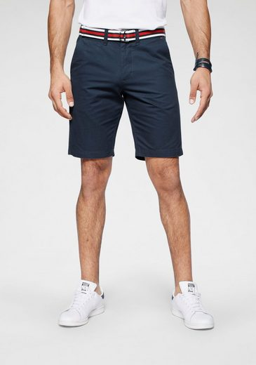 TOM TAILOR Polo Team Chinoshorts (mit abnehmbarem Gürtel) mit abnehmbarem Gürtel