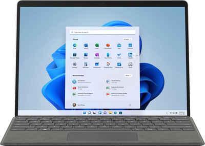 Microsoft Surface Pro 8 Convertible Notebook (31 cm/13 Zoll, Intel Core i7 1185G7, Iris© Xe Graphics, 256 GB SSD)