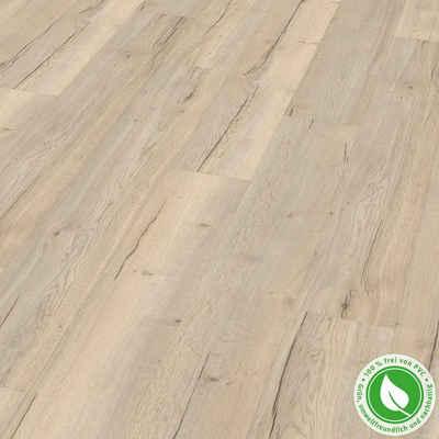 EGGER Designboden »GreenTec EHD013 Monfort Eiche weiss«, Packung