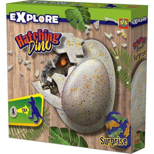 SES Creative Lernspielzeug »Schlüpfender Dino«