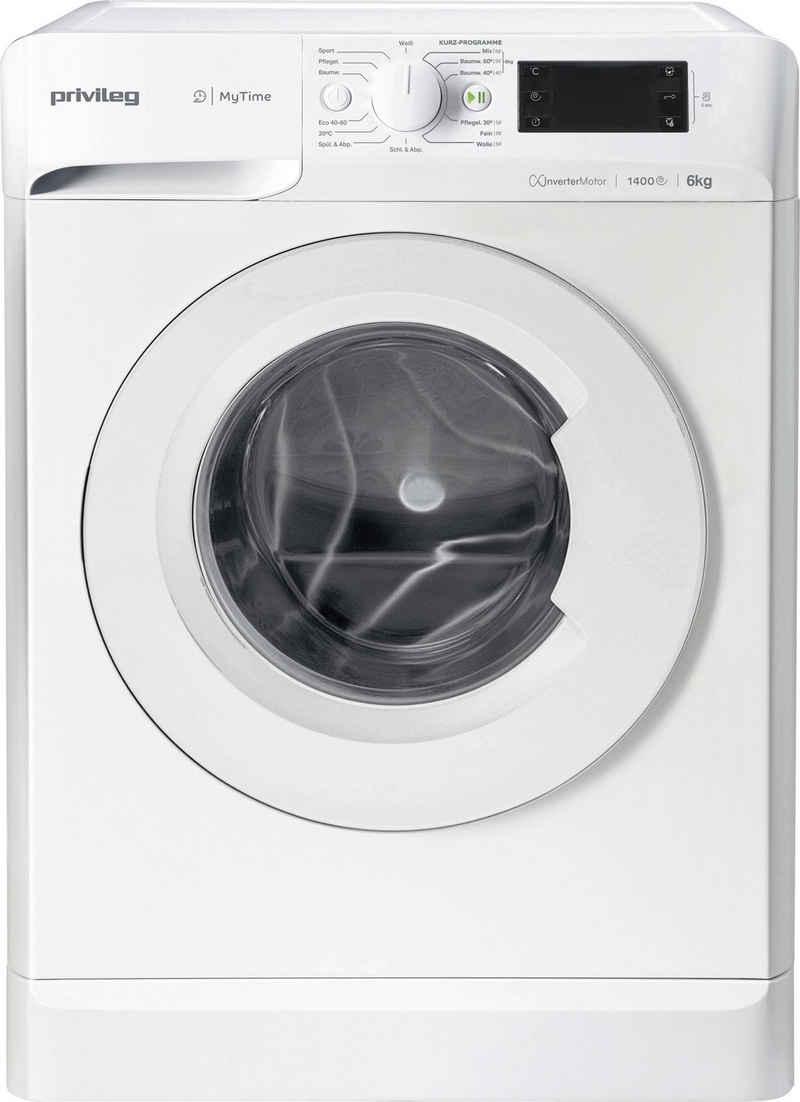 Privileg Waschmaschine OPWF MT 61483, 6 kg, 1400 U/min