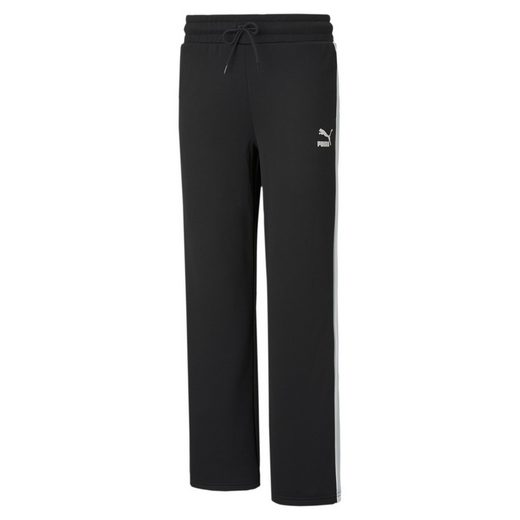 PUMA Jogginghose »Iconic T7 Damen Trainingshose mit weitem Bein«