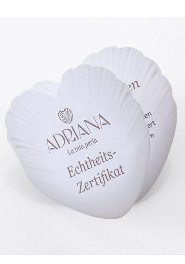 Adriana Lange Kette »PR4-32«  mit Spinell und Tahitizuchtperlen  Made in Germany