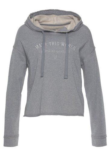 Herrlicher Sweatshirt »WINONA« mit effektvoller Melange-Optik