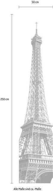 Komar Vlies-Fototapete Tour Eiffel, 50 x 250 cm / 1-tlg.