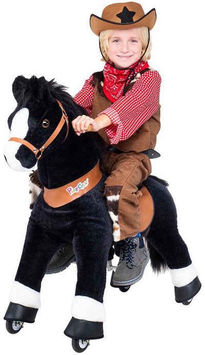 miweba Reitpferd »Ponycycle Black Beauty«, Kuscheltier auf Rollen