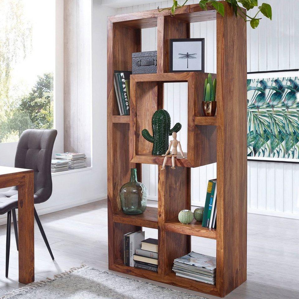 Küche,Schlafzimmer Wandregal aus massivem Holz Für Wohnzimmer Vintage-Design