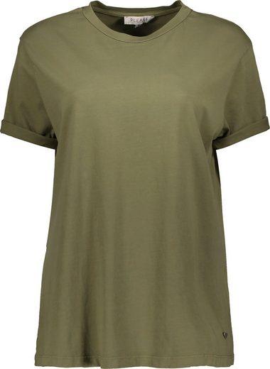 Please Jeans T-Shirt »TOEYK PL« mit Umschlagsaum
