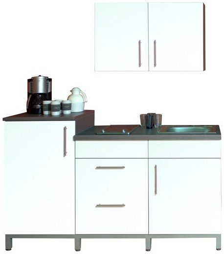 Menke Küchen Küchenzeile »Rack-Time Single 180«, mit E-Geräten