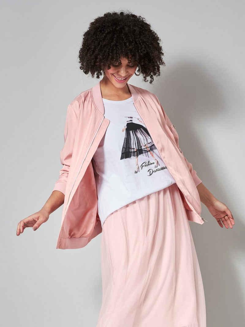Angel of Style Blouson mit modischen Details