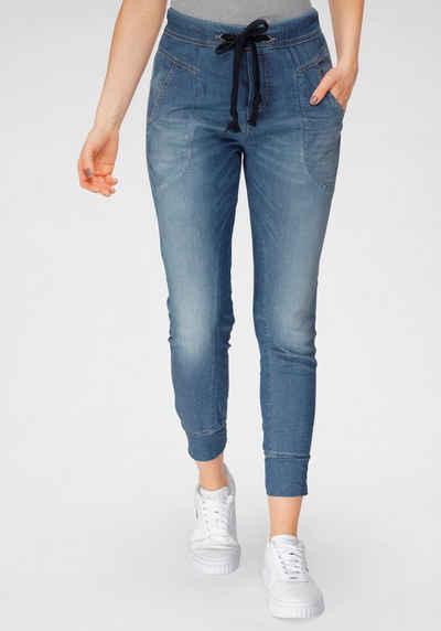 Please Jeans Jogg Pants »P 51G« im authentischem Denim Used-Look