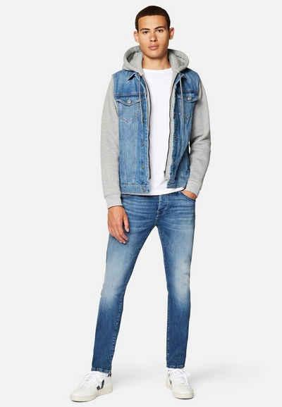 Mavi Jeansjacke »JERRY« Denim Jacke mit Jersey-Ärmeln
