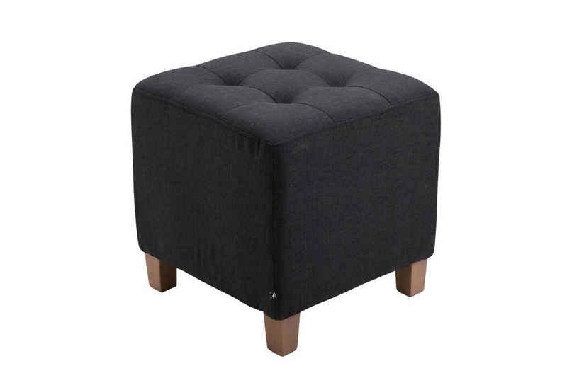 CLP Sitzwürfel »Pharao Stoff«, mit hochwertiger Polsterung