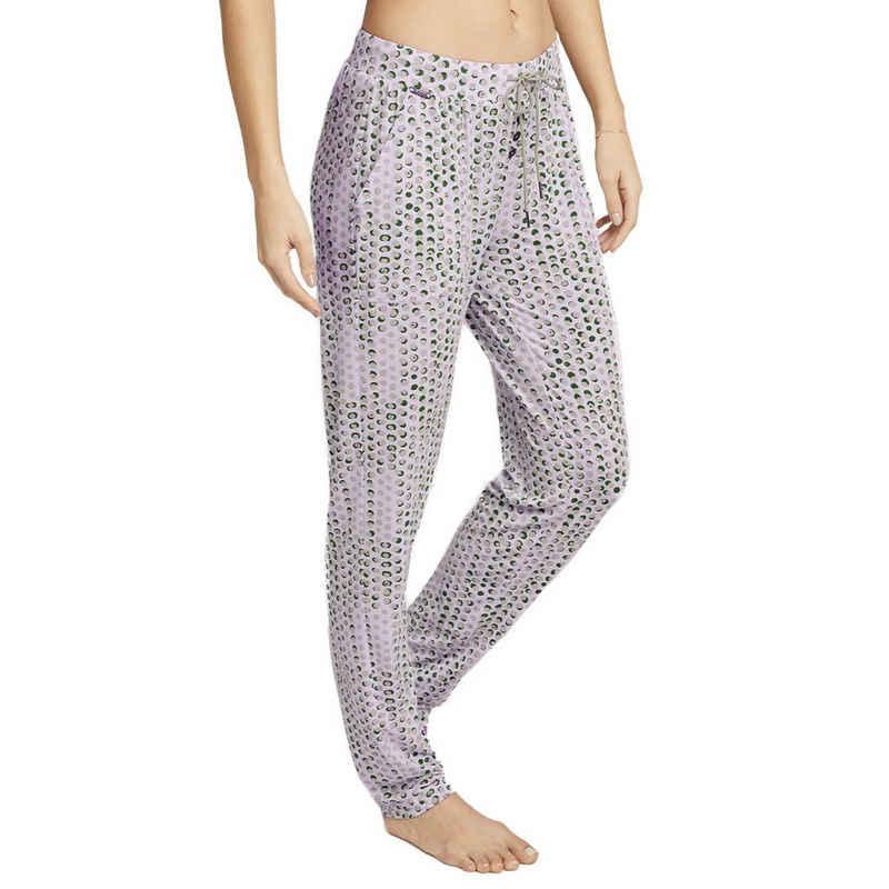 Jockey Schlafhose »Supersoft Lounge« Schlafanzug Hose lang - Lockere Passform, Seitentaschen, Zierknöpfe vorne