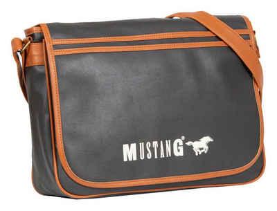MUSTANG Messenger Bag »Milan«, mit Logoaufdruck