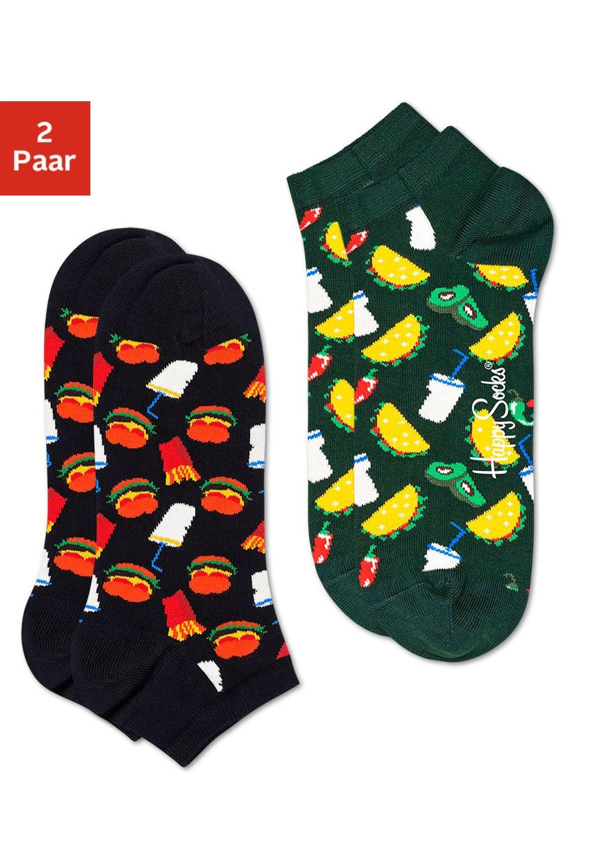 Happy Socks Sneakersocken »Hamburger