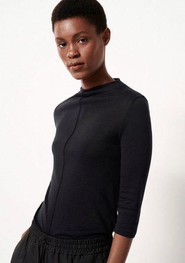 someday Langarmshirt »Keeli« mit angeschnittenem Kragen