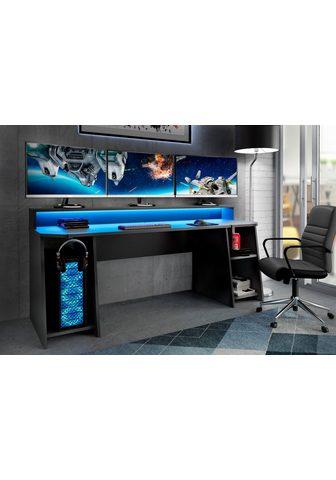 FORTE Gamingtisch »Tezaur« su RGB-Beleuchtun...
