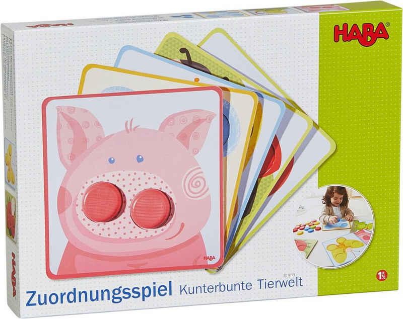 Haba Spiel, »Kunterbunte Tierwelt«, Made in Germany