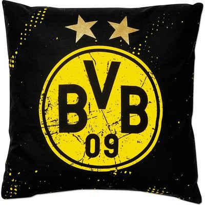 Borussia Dortmund Dekokissen »BVB-Kissen Sterne (40x40cm)«