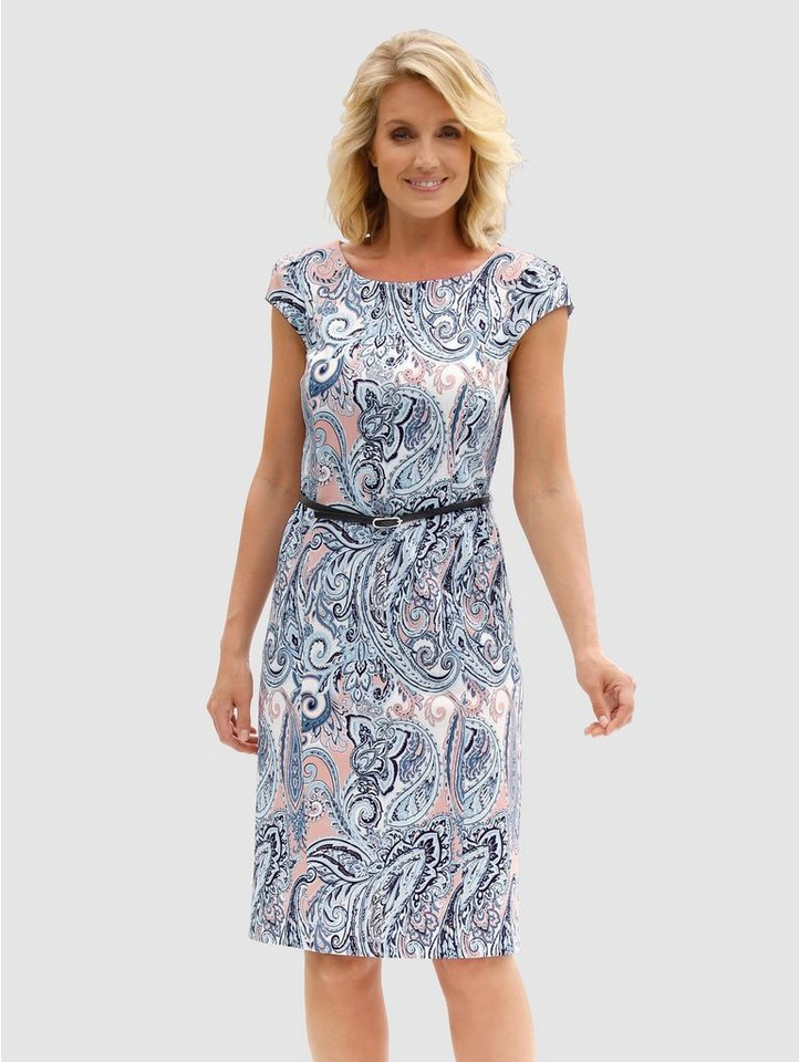 Paola Kleid mit abnehmbarem Gürtel, Elastische ...