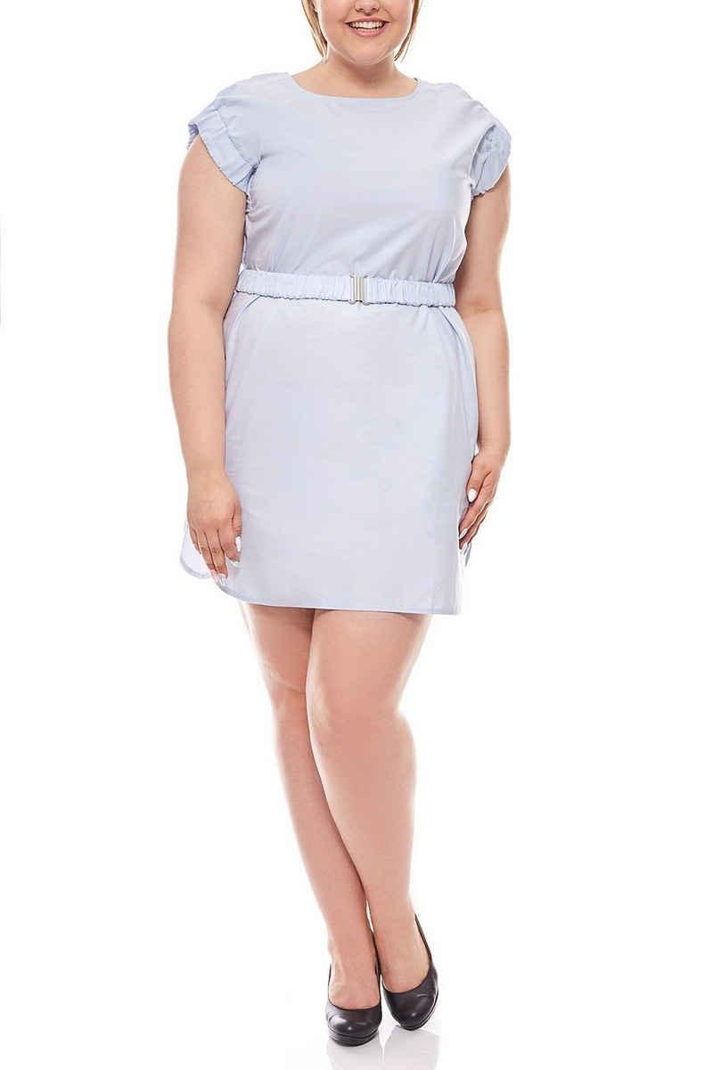 Heine Sommerkleid »rick cardona Kleid knielanges Etuikleid Kleid Große Größen Blau«