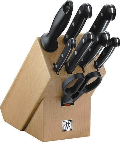 Zwilling Messerblock »Twin Gourmet 9-tlg, Holz, Rostfreier Spezialstahl«, Korrosionsbeständigkeit