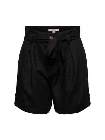 Esprit Shorts »Leinen-Mix: Shorts mit Bindegürtel« (1-tlg)