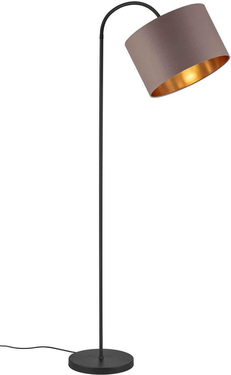 my home Stehlampe »JOSIE«, Stehleuchte mit flexiblem, schwenkbaren Schirm