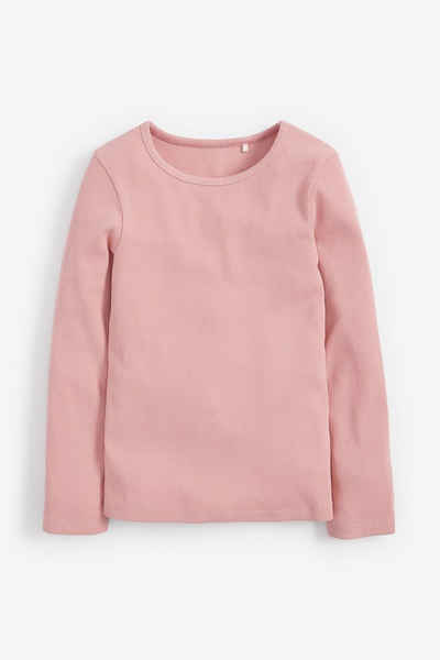 Next T-Shirt »Geripptes Langarmshirt« (1-tlg)