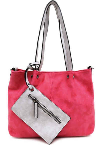 EMILY & NOAH Shopper »Bag in Bag Surprise«, für Damen