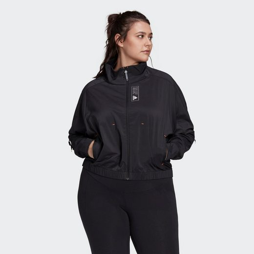 adidas Performance Trainingsanzug »adidas Sportswear Primeblue Jacke – Große Größen«