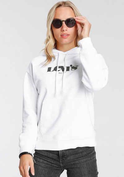 Levi's® Hoodie »Graphic Standard« mit aufgesetztem Logoprint auf der Vorderseite