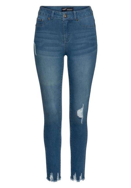 Hosen - Arizona Skinny fit Jeans »Ultra Stretch« High Waist ›  - Onlineshop OTTO