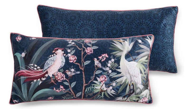 Descanso Dekokissen »Sarenza«, mit Blumenprint und Vögeln